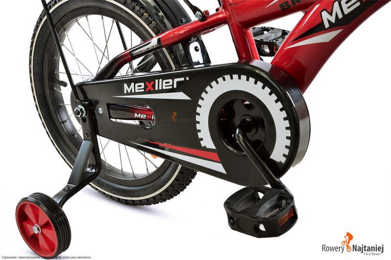 ROWER DZIECIĘCY 16 BMX MEXLLER NIEBIESKI MIKOŁAJKOWA PROMOCJA! zdjęcie 4