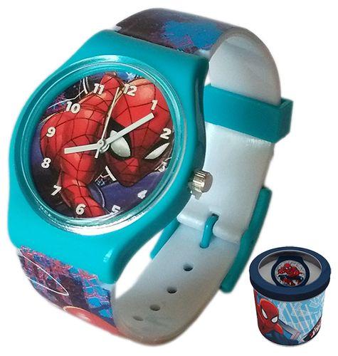 Zegarek dziecięcy Spider-Man Spiderman Licencja Marvel (50580 Blue) na Arena.pl
