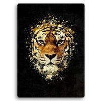 Obraz na metalu, Dziki tygrys 30x40