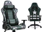 Fields of Battle FOREST CAMOUFLAGE fotel gamingowy Warrior Chairs