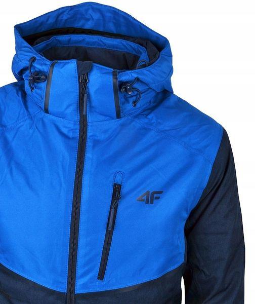 Kurtka narciarska męska 4F H4Z18 KUMN003 ciemno granatowo niebieska