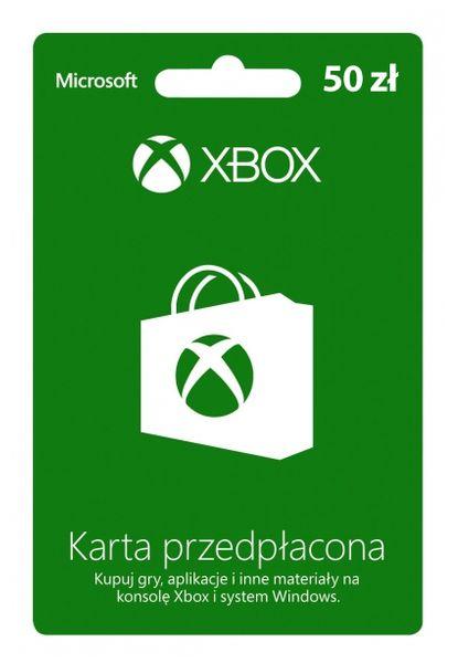 Karta przedpłacona Xbox Live 50 zł na Arena.pl