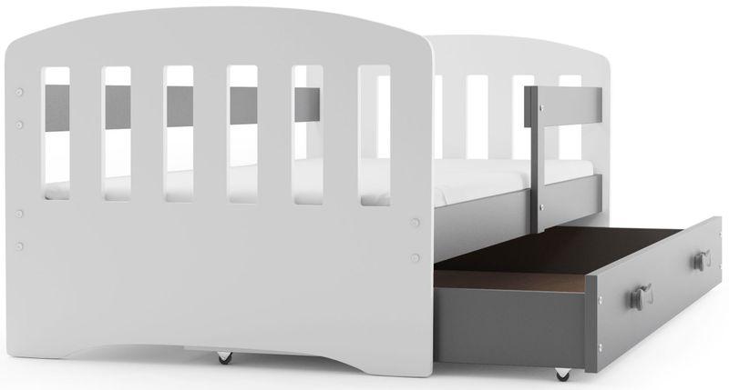 łóżko łóżka Happy Dziecięce 160x80 Barierka Stelaż Gratis