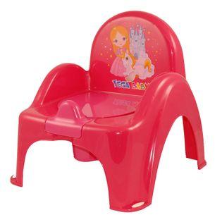 TEGA PO-054-123 Nocnik krzesełko z pozytywką KSIĘŻNICZKA różowy