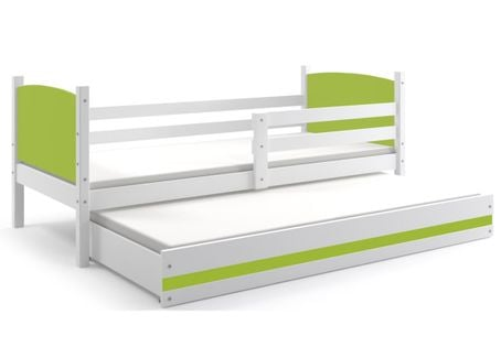 Łóżko dziecięce piętrowe dwuosobowe Tami wysuwane 200x90 dla dzieci