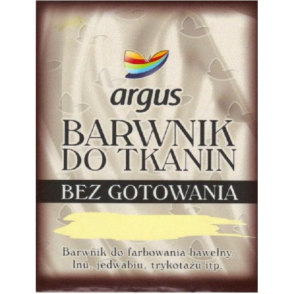 BARWNIK DO TKANIN ARGUS BEZ GOTOWANIA - 16 kolorów na Arena.pl