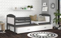 Łóżko MATEUSZ P COLOR 190x80  szuflada + materac