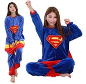 PIŻAMA KIGURUMI ONESIE KOMBINEZON SUPERMAN S