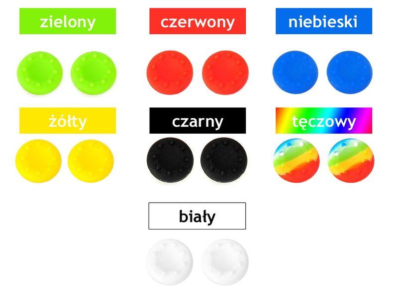 4 sztuki gumki nakładki na pada analogi do PS4 PS3 Xbox 360 Xbox ONE na Arena.pl