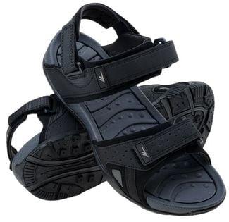 Męskie sandały Hi-Tec Lucise czarne rozmiar 46