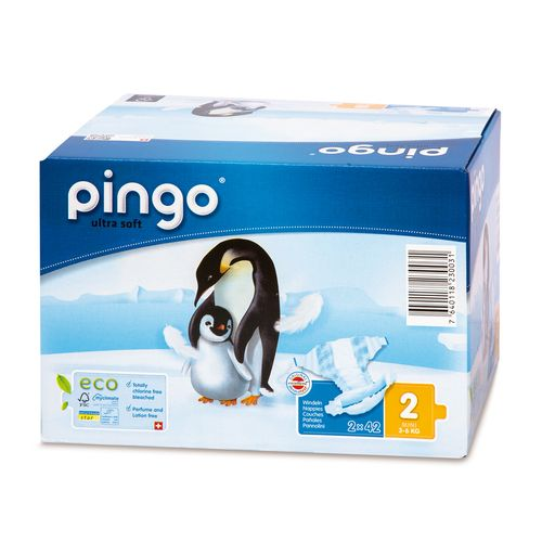 Pieluszki Pingo Ultra Soft 2 MINI 84szt. (box 2x42) na Arena.pl