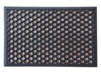 Wycieraczka 40x60cm mata gumowa na najazdem czarna fr1