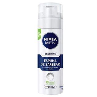 NIVEA MEN SENSITIVE 0% alcohol 200ml - pianka do golenia