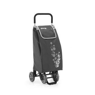 Lumarko Wózek na zakupy 30kg/56l. Twin szary 4 kółka!