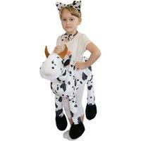 strój KROWA na szelkach dla dzieci kostium KRÓWKA