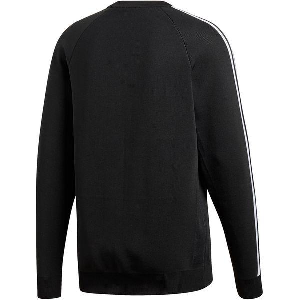 Bluza adidas knit crew czarna dh5754