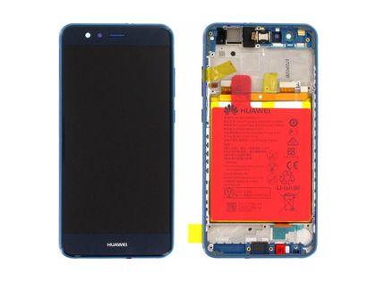 100% Oryg Nowy Przód z LCD i baterią P10 Lite blue - niebieski