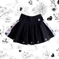 Rockowa spódniczka dziewczęca z lampasem Rock Kid Mia Rock 140/146