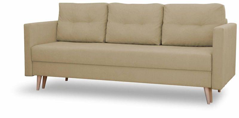 Kanapa rozkładana z funkcją spania, skandynawska sofa Säffle zdjęcie 4
