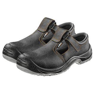 Sandały robocze skórzane, S1 SRC, rozmiar 37