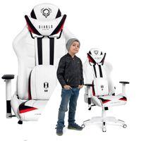 FOTEL gamingowy BIUROWY dla GRACZA obrotowy DIABLO X-RAY Kids (S)
