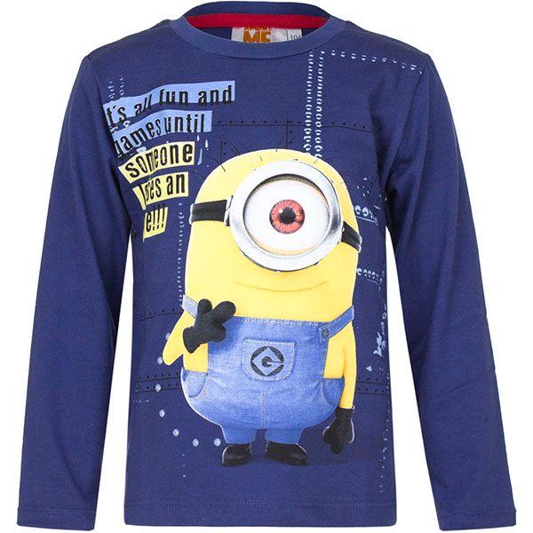 T-Shirt Bluzka Minions 8Y r128 Licencja Illumination (5901854838434) zdjęcie 1
