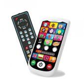 Zestaw smartfonik i pilot TV