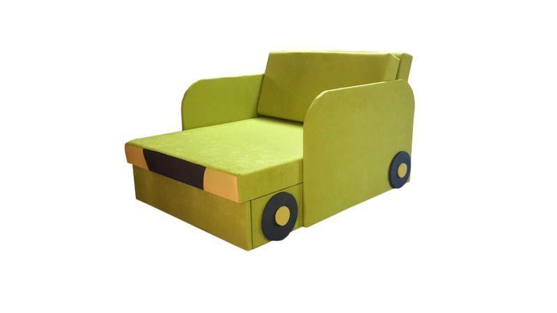 Łóżko, fotel , tapczanik dziecięcy z pojemnikiem na pościel zdjęcie 10