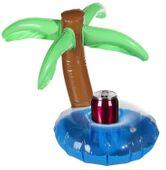 Dmuchana palma do drinków napojów podstawka ponton