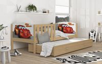 Łóżko TAMI P2 190x80 wysuwana szuflada + materace