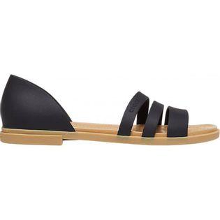Crocs sandały damskie Tulum Open Flat W czarne 206109 00W 41-42