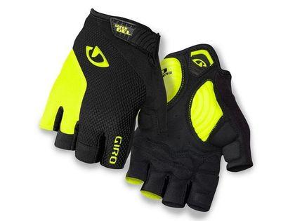 Rękawiczki męskie GIRO STRADE DURE SG krótki palec black highlight yellow roz. XL (obwód dłoni 248-267 mm / dł. dłoni 200-210 mm) (NEW)