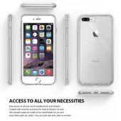 Etui Ringke Fusion iPhone 7 Plus / 8 Plus czarne zdjęcie 4