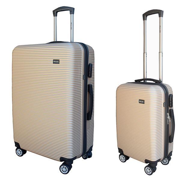 ZESTAW WALIZEK podróżnych walizka walizki XL + M 1359 + 1361 zdjęcie 1