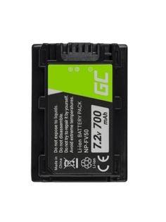 Bateria Green Cell ® Np-Fv50 / Np-Fv100 Do Sony Dcr-Dvd506E Dcr-Dvd510E Hdr-Cx116E Hdr-Cx130 Hdr-Cx155E Hdr-Ux9E 7.2V 700Mah