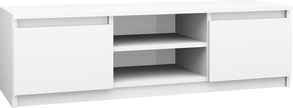 Szafka stolik RTV pod telewizor komoda 140cm BIAŁY