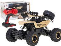 Samochód RC Rock Crawler 1:12 4WD METAL złoty