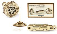 Drewniane puzzle mechaniczne 3D Wooden.City - Gadżety #T1