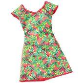 Barbie Modne Sukienki DWG07 Kolorowa  sunkienka MATTEL FCT12
