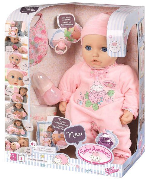 BABY ANNABELL LALKA INTERAKTYWNA 8 FUNKCJI GIRL 794401 zdjęcie 12