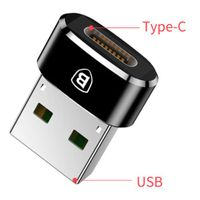 BASEUS Aadapter OTG gniazdo USB-C żeński USB przejściówka