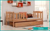Łóżko dla dzieci KUBUŚ P 180x80 szuflada + materac