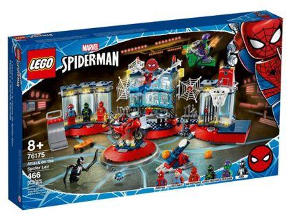 Lego Heroes Atak na kryjówkę Spider-Mana 76175