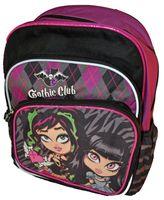 Gothic Club Plecak szkolny dwukomorowy