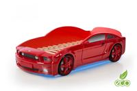 Łóżko AUTO samochód - Mebelev MG 3D full CZERWONE