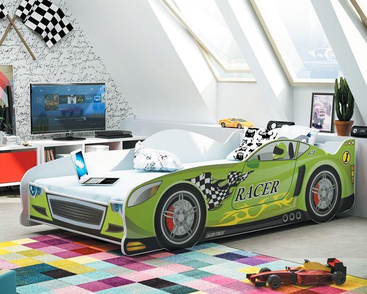 Łóżko dziecięce auto 160x80 CARS + MATERAC GRATIS! zdjęcie 5