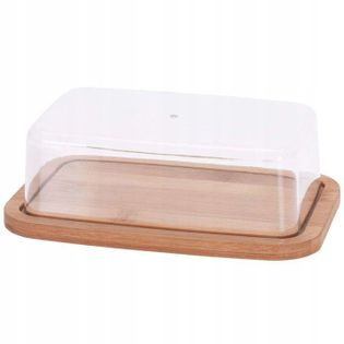Maselnica MASELNICZKA bambusowa pojemnik na masło