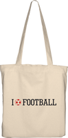 """I Love Football 2"" Torba Bawełniana Eko"