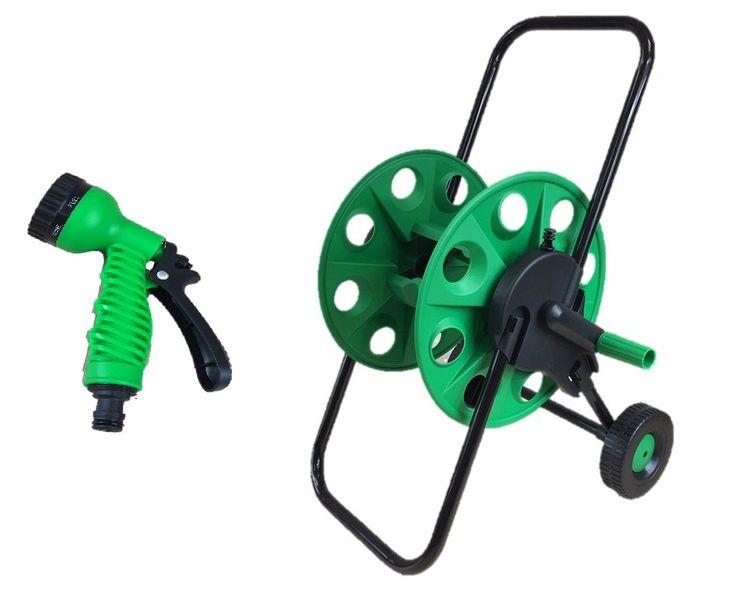 Wózek wieszak na wąż ogrodowy do 50m +gratis zdjęcie 1