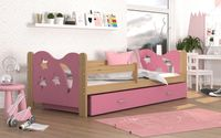 Łóżko dla dzieci MIKOŁAJ 160x80 + szuflada + materac